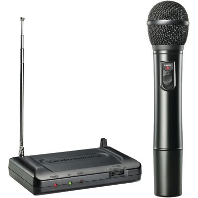 Audio Technica 170.245MHz VHF Handheld Wireless Microphone System