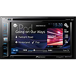 Pioneer DVD Receiver with 6.2' Display, SiriusXM-Ready, Spotify, and AppRadio One