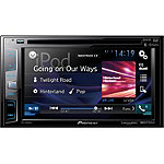 Pioneer DVD Receiver with 6.2' Display, Bluetooth, Siri Eyes Free, AppRadio One, and Dual Camera Inputs