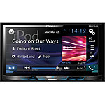 Pioneer DVD Receiver with 7' Motorized Display, Bluetooth, Siri Eyes Free, Spotify, and AppRadio One