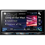 Pioneer DVD Receiver with 7' Motorized Display, Bluetooth, Siri Eyes Free, AppRadio One, and Two Camera Inputs