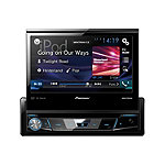 Pioneer 1-DIN DVD Receiver with 7' Flip-out Display, Bluetooth, Siri Eyes Free, Spotify, and AppRadio One