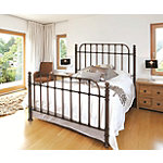 Bell'O Dark Copper King Metal Bed Frame