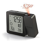 Oregon Scientific Black Projection Clock with Indoor/Outdoor Temperature and Weather