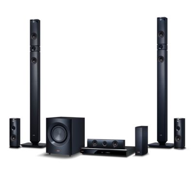 LG 1,460-Watt 9.1 3D Smart Blu-ray Home Theater