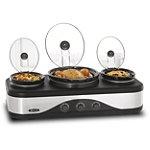 Bella Multi-Size Triple Slow Cooker 44.99