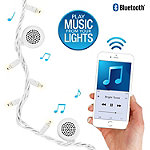 Innovative Technology White Bright Tunes Indoor/Outdoor White 80 LED String Lights with Bluetooth Speakers