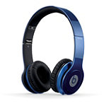 Beats by Dr. Dre Metallic Blue Beats Solo HD On-Ear Headphones 179.99