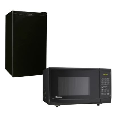 Danby Compact Refrigerator and Countertop Microwave Oven