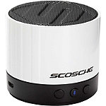 Scosche White BoomStream Mini-Speaker System