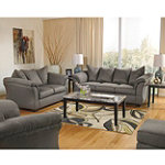 Berkline Hazel Dell Collection Contemporary Sofa, Loveseat, Chair and Ottoman