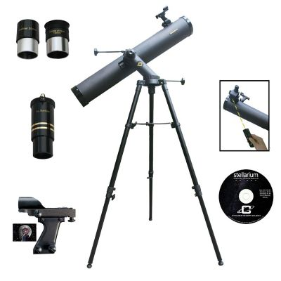 Cassini 1000 x 120mm Tracker Reflector Telescope Kit with Electronic Focus