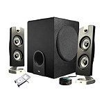 Cyber Acoustics Platinum 2.1-Channel Speaker System No price available.