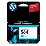 HP 564 Cyan Ink Cartridge 9.99