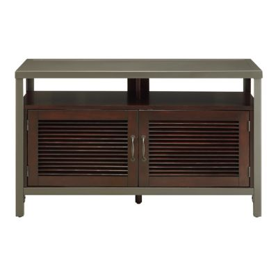 TechCraft Solid Steel Credenza for TVs Up to 55