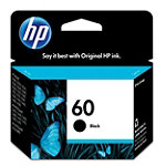 HP 60 Black Ink Cartridge 14.99