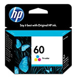 HP 60 Tricolor Ink Cartridge 19.99