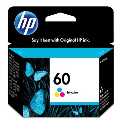 HP 60 Tricolor Ink Cartridge