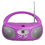 Riptunes Pink CD Player Boombox