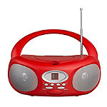 Riptunes Red CD Player Boombox