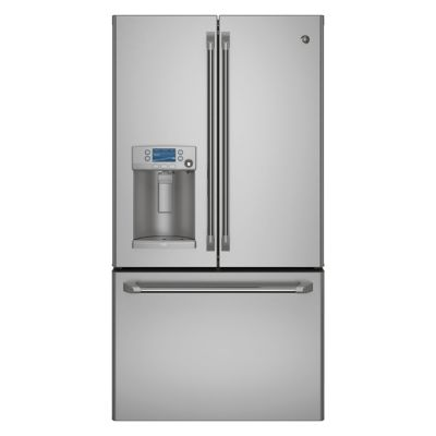 GE 27.8 Cu. Ft. Stainless Steel French Door Refrigerator with Keurig K-Cup® Brewing System