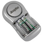 Energizer Rechargable Value Charger with 2 AA Batteries 9.95