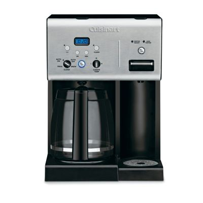 Cuisinart Coffee Plus™ 12-Cup Programmable Coffee Maker with Hot Water System