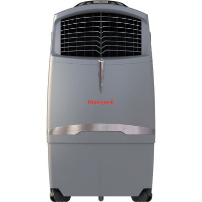 Honeywell 63-Pint Indoor Evaporative Air Cooler with Remote Control, Grey