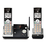 AT&T DECT 6.0 2-Handset Cordless Phone with Answering System