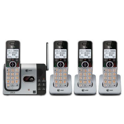 AT&T DECT 6.0 4-Handset Cordless Phone with Answering System