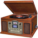 Crosley Radio Director CD Recorder Turntable