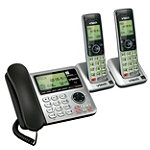 VTech DECT 6.0 3-Handset Corded/Cordless Phone with Answering System 69.99
