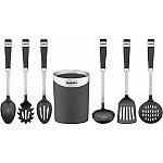 Cuisinart Barrel Handle Series 7-Piece Boxed Tool Set with Storage Crock 49.99