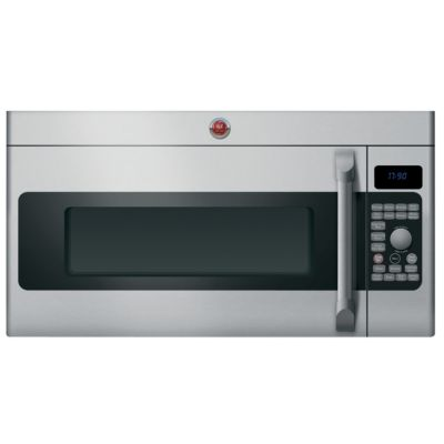 GE 1.7 Cu. Ft. 1,000-Watt Stainless Steel Cafe™ Convection Over-the-Range Microwave