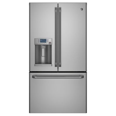 GE 22.1 Cu. Ft. Cafe™ Stainless Steel Counter-Depth French Door Refrigerator
