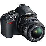 Nikon 14.2 Megapixel Digital SLR Camera with 18-55mm Zoom Lens