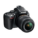 Nikon 16.2 Megapixel D-SLR Camera with 18-55mm Lens 599.99