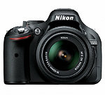 Nikon 24.1 Megapixel D-SLR Camera with 18-55mm VR Lens