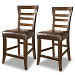 Home Solutions Upholstered Stools Set of 2 No price available.