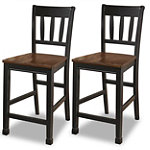 Home Solutions Counter-Height Chairs Set of 2 119.95