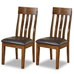 Ashley Kitchen Side Chairs Set of 2 179.50
