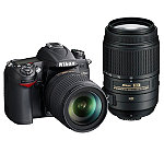 Nikon 16.2 Megapixel Digital SLR Camera with 18-105mm Zoom Lens and 55-300mm f/4.5-5.6G ED VR DX Telephoto Zoom Lens 1599.57