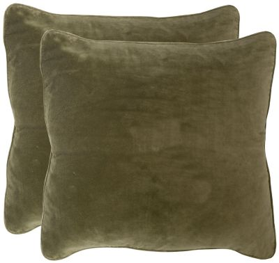 Safavieh Vert Velvet Dream Pillows Set of 2