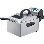 Waring Pro 1800-Watt 3-Basket Digital Deep Fryer 99.95