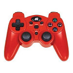 dreamGEAR Red Radium Wireless controller Gamepad for Sony PlayStation 3 29.99
