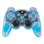 dreamGEAR Blue Lava Glow Wireless Controller with Rumble Gamepad for PlayStation3 34.99