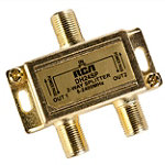 RCA Digital Plus 2.4GHz Bi-Directional 2-Way Splitter 9.99