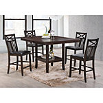 Crown Mark Dawson Counter-Height Dining Set