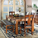 Steve Silver Craftsman Family Dining No price available.