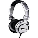 Gemini Silver Professional DJ Headphones